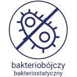 Opatrunek bakteriobójczy i bakteriostatyczny