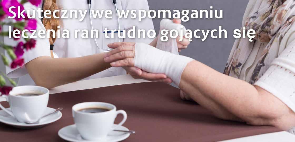 Slajder skuteczne leczenie trudnych ran
