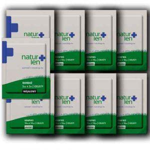 Pakiet kompresów i bandaży na 2 miesiące + 10 szt. kompresów GRATIS 10 x 10 cm
